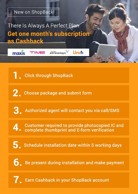 Shopback Cashback Malaysia Internet Packages