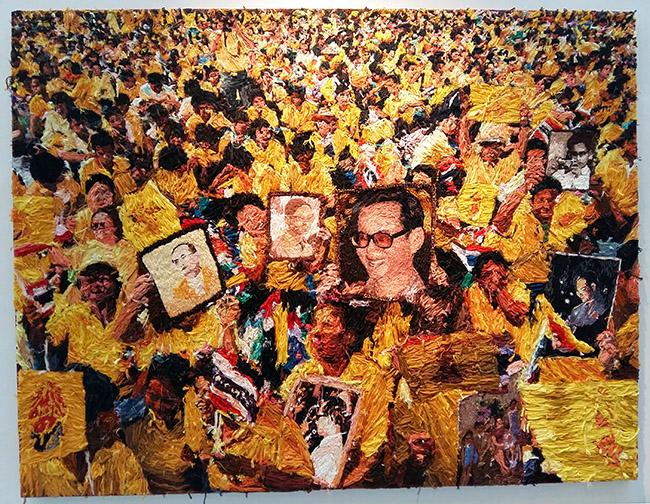 Nilraya Bundasak นิลยา บรรกาศักดิ์ - Thai King Rama IX Art
