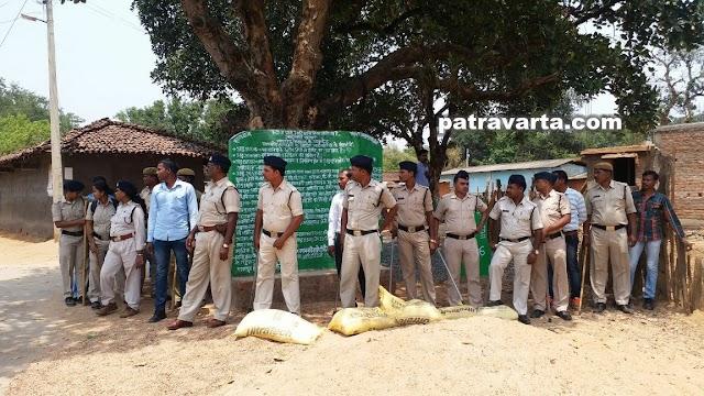 ब्रेकिंग पत्रवार्ता(जशपुर) -पत्थलगढ़ी की जमीं पर सियासत के धुरंधर, बीजेपी ने बछरांव से की सद्भावना रैली की शुरुआत,संविधान की रक्षा में पुलिसकर्मी तैनात