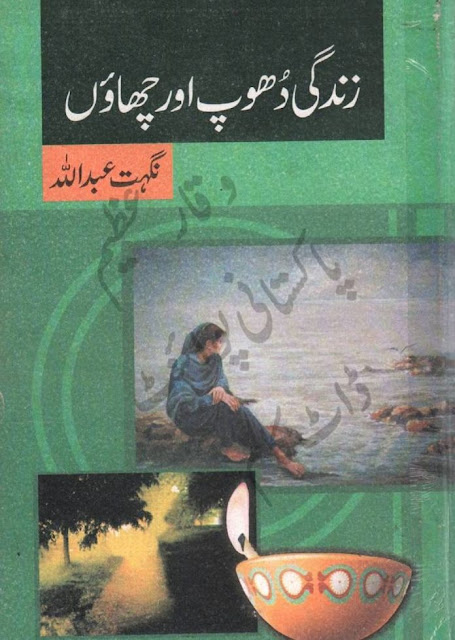 Zindagi Dhoop Aur Chaon Urdu Novel  by Nighat Abdullah Romantic Novel PDF