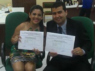 Joelma Duarte Campos e Ruben Lima