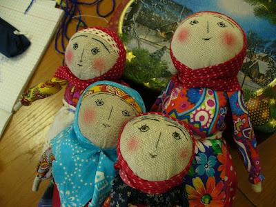 мастер класс народные куклы
