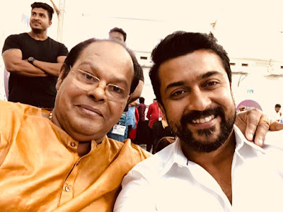 Actor_Surya_With_Malayalam_Actor_Innocent_Images
