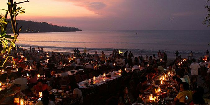 Jimbaran Seafood Dinner, Bali Uluwatu Tour Itinerary, Sunset Bali Trip Uluwatu Temple Kecak Dance Tour Package