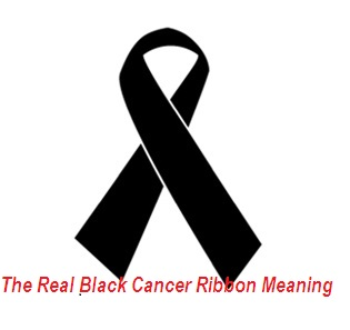 Black Cancer Ribbon Meaning