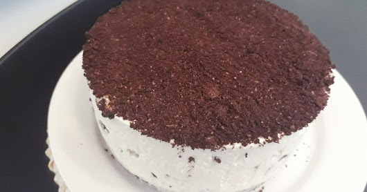 No Bake Oreo Cheesecake with agar agar