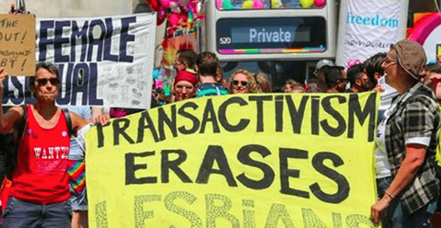 Feminists Clash with Transgenders at London Pride Parade