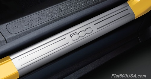 Fiat 500X Door Sill Mouldings