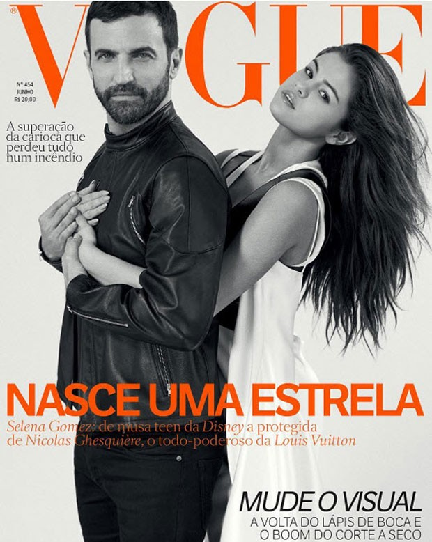 Selena Gomez covers Vogue Brazil June 2016