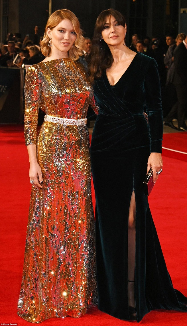 bond girls monica belluci and lea seydoux
