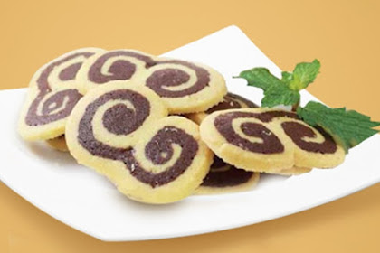 Resep Kue Kering Gulung Vanila Coklat
