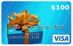 Visa GC $100 Blogger Opp, Event starts 6/16