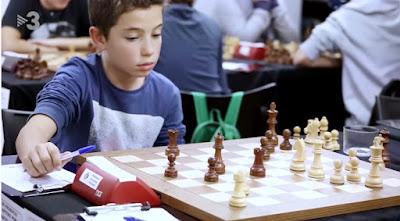 El ajedrecista Sub-12 Jan Travesset