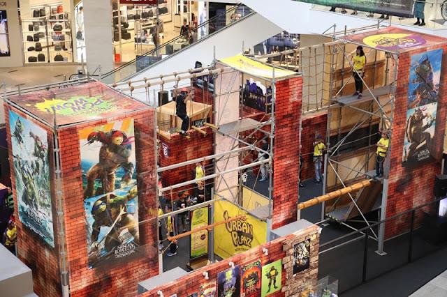 Ninja Action Zones, Teenage Mutant Ninja Turtles 2, Out of The Shadows, Pavilion KL