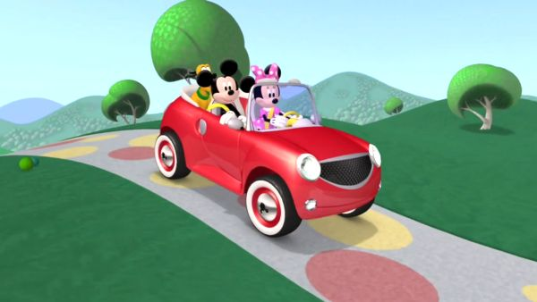 MINNIE: Hop in, fellow world travelers!