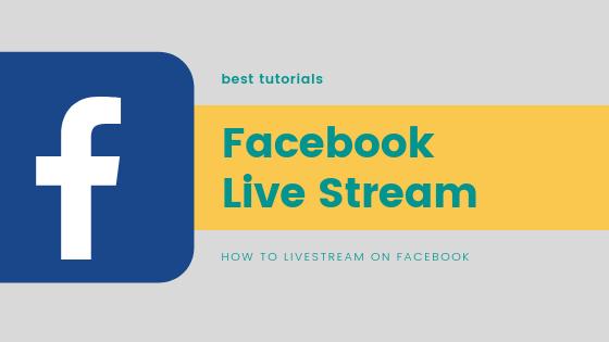 Broadcast Live On Facebook<br/>