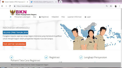 Pelamar CPNS 2018 Diharap Untuk Cetak Ulang Kartu Informasi Akun