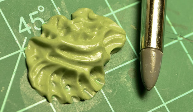Modern Synthesist Sculpting Miniatures techniques