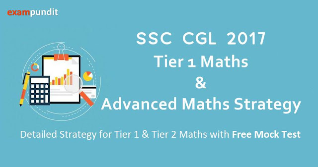 SSC CGL Advanced Maths Strategy