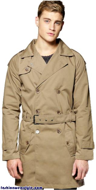 Boohoo Winter Hoods & Rain Mac for men 2016 www.fashionwearstyle.com