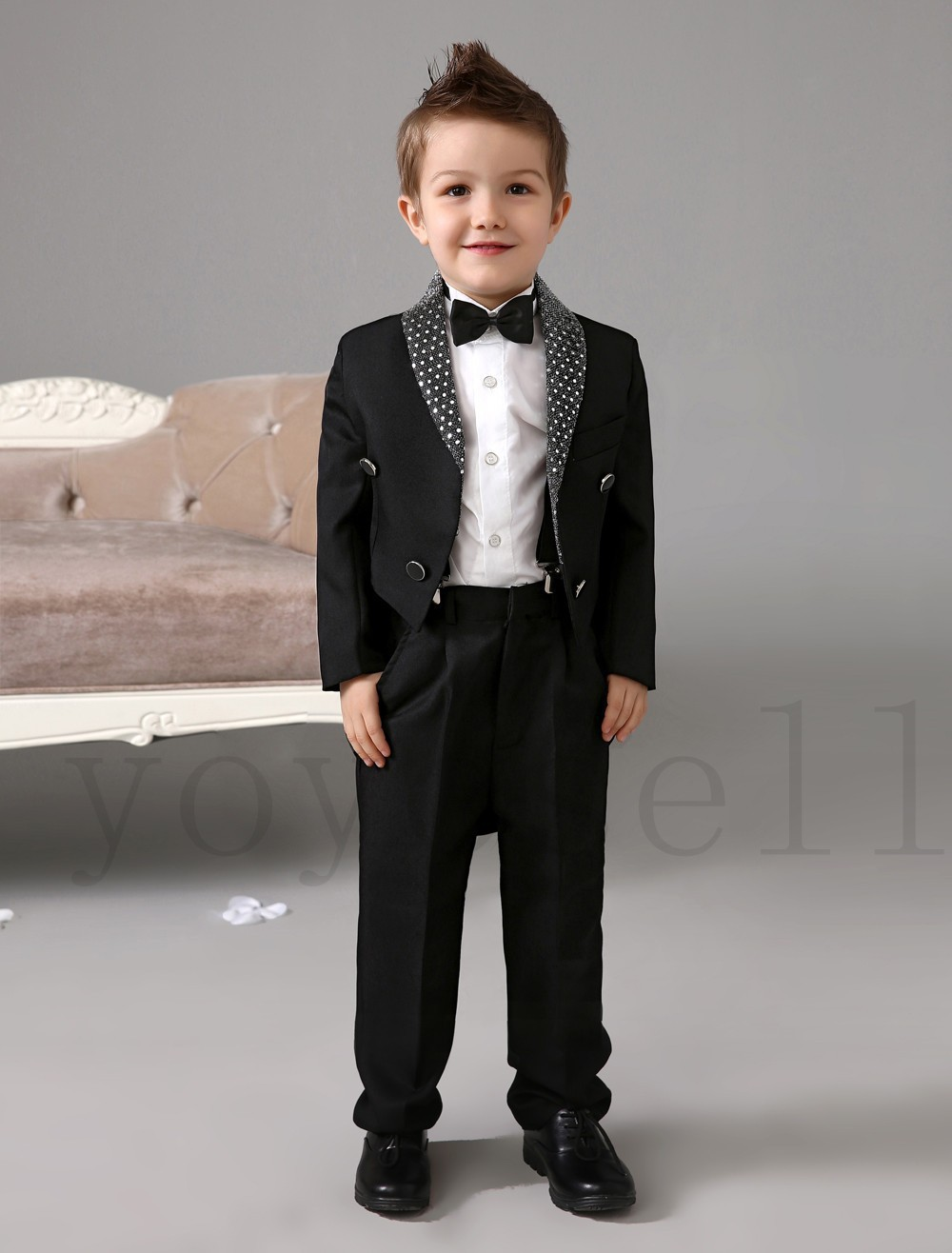 Boys Formal Ring Bearer Suits