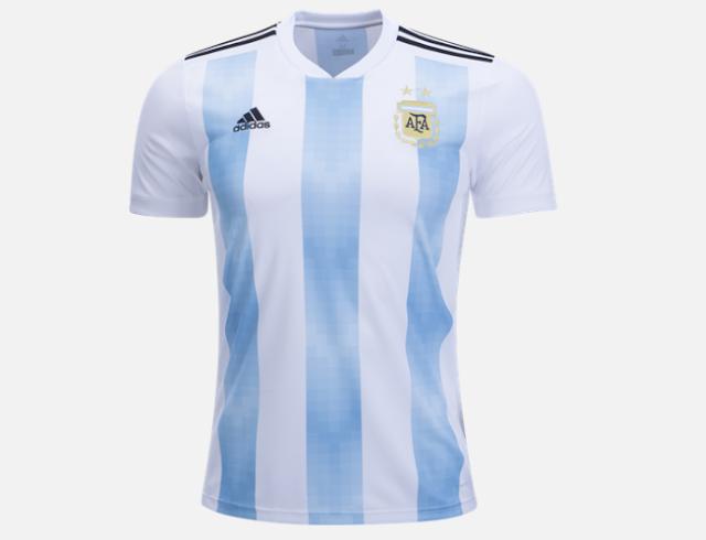 Jersey Timnas Argentina 2018 / Argentina National Jersey 2018