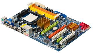 Gambar komponen Komputer (MotherBord)