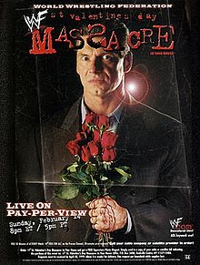 WWE / WWF St. Valentine's Day Massacre 1999 - IHY 27 - Event poster