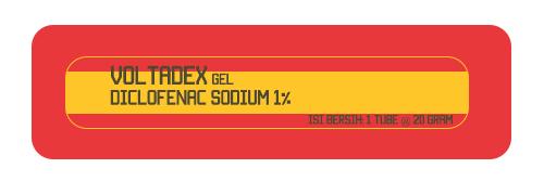 Voltadex Gel - Diclofenac Sodium 1%