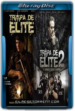 Coleção Tropa de Elite Torrent 2007 2010 1080p BluRay Nacional
