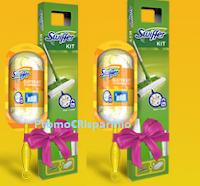Logo Concorso ''Un mondo di coccole'': vinci gratis 50 kit Swiffer