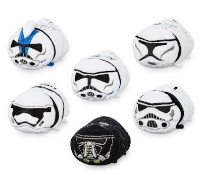 D23 Expo 2017 Exclusive Star Wars Stormtrooper Tsum Tsum Box Set by Disney