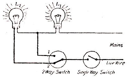electrical topics: Circuit for Only one particular lamp
