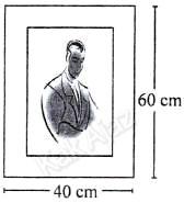 Ukuran foto sebangun dengan bingkai karton, penerapan kesebangunan, soal matematika SMP UN 2017 no. 29