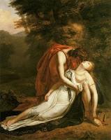 La Mort d'Eurydice par Ary Scheffer - 1814