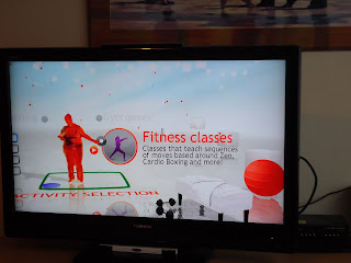 Me as a big red blob on the Your Shape screen