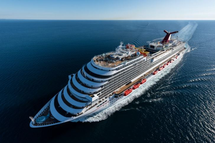 Carnival Vista Undergoes Final Testing