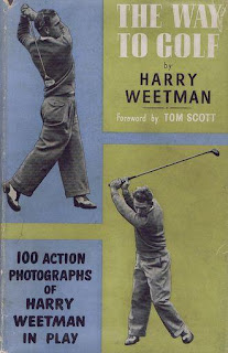 cover of book written by golfer Harry Weetman