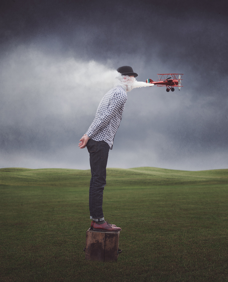 18-Self-Sabotage-Logan-Zillmer-Surreal-Conceptual-Photography-with-a-sprinkle-of-Magritte-www-designstack-co