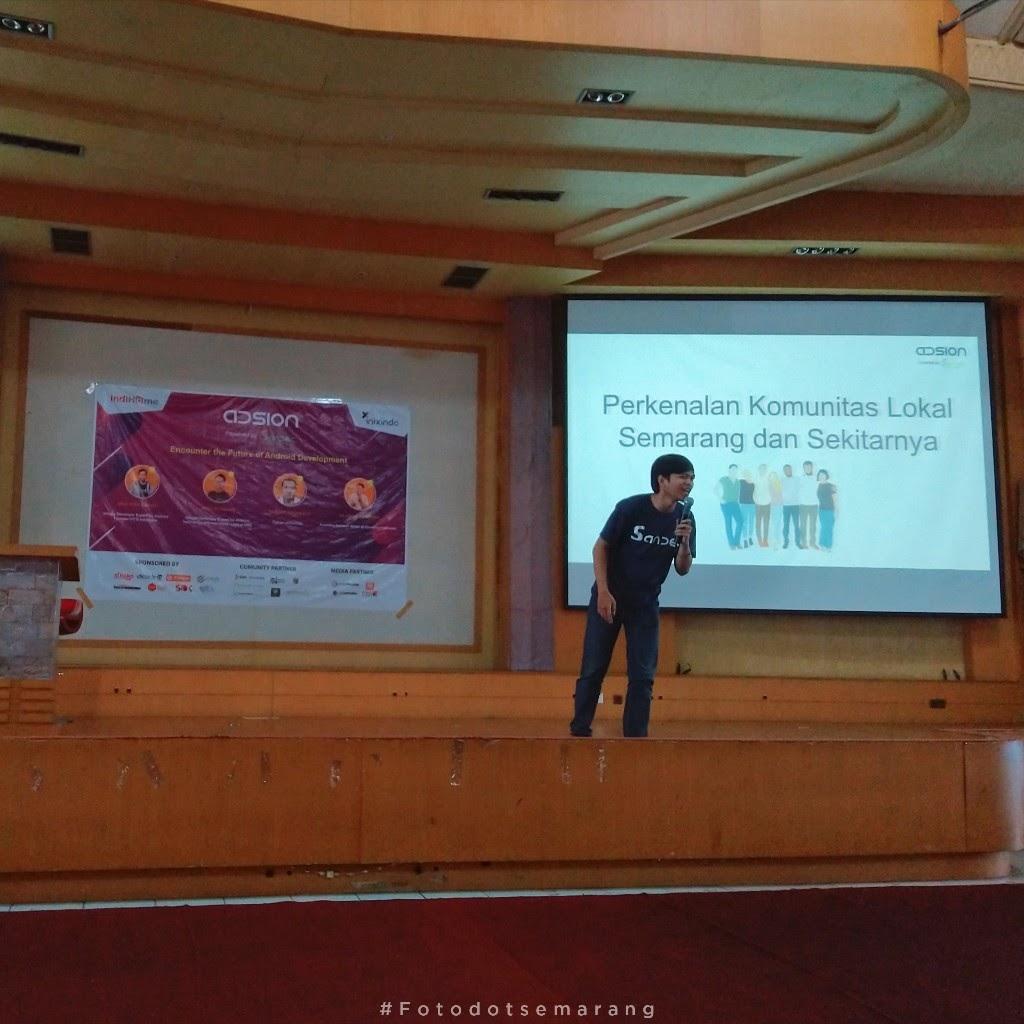 Berkenalan Dengan SANDEC, Komunitas Android Semarang