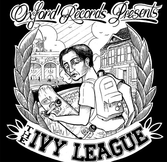 <center>Oxford Records stream 'The Ivy League' compilation</center>