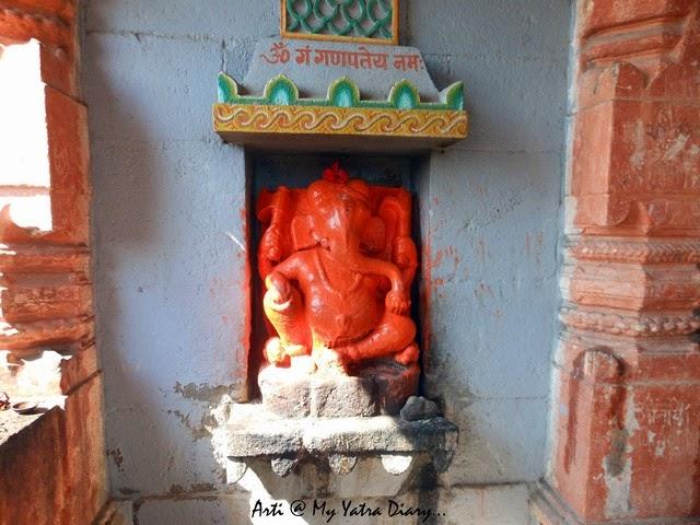 Lord Ganesha at the Sangameshwar Shiva Temple, Saswad, Pune