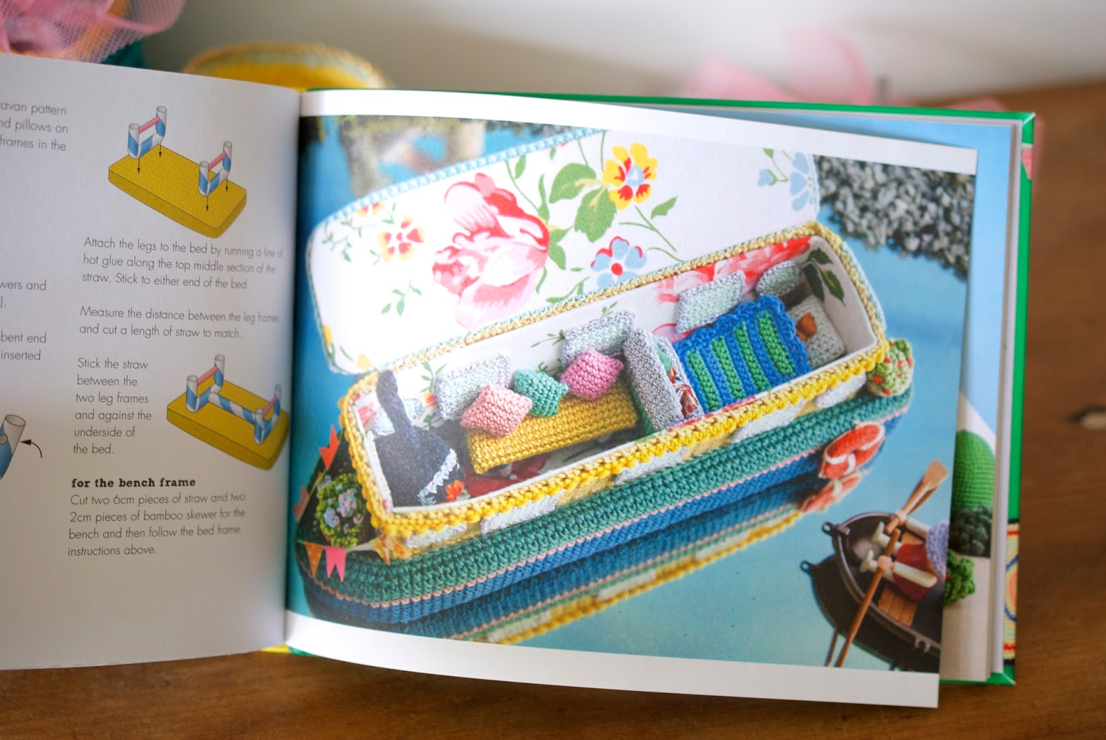 Greedy For Colour: 'Let's Go Camping! Crochet Your Own Adventure' - a look  inside the book!