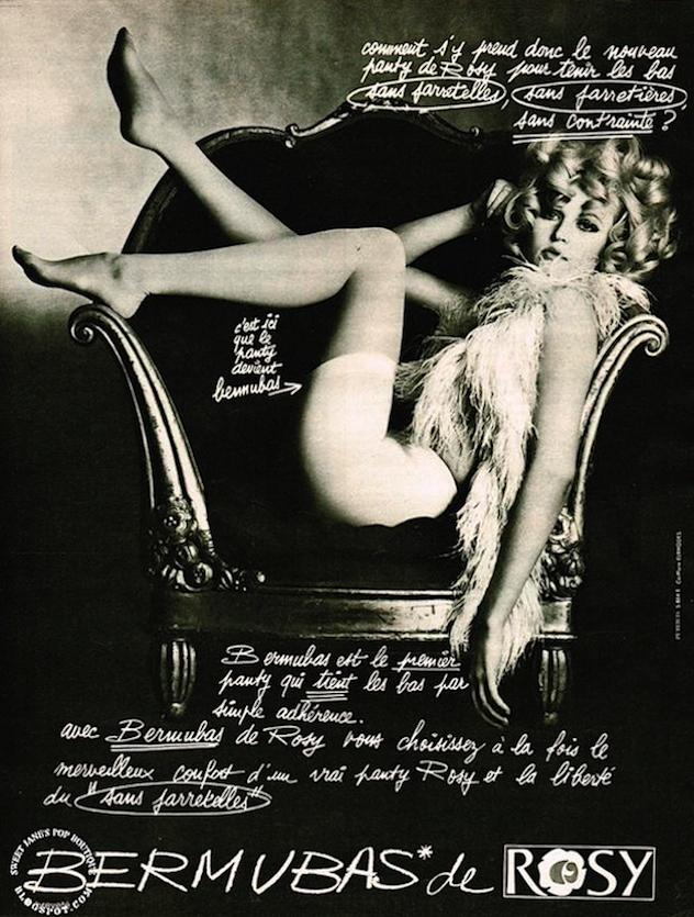 1960s Stockings Advert