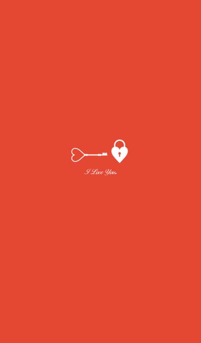 I Love you-key-