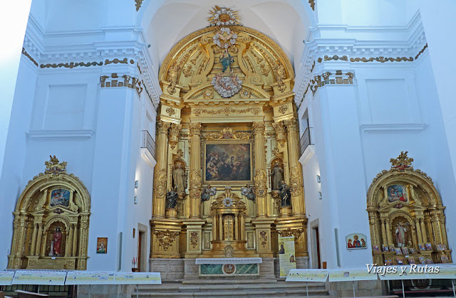 Interior de la iglesia de San Francisco Javier, Cáceres