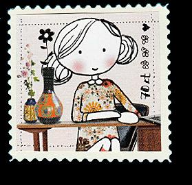 like stamps so much briefmarken selber machen einfach. Black Bedroom Furniture Sets. Home Design Ideas