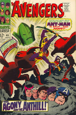 Avengers #46, Ant-Man is back