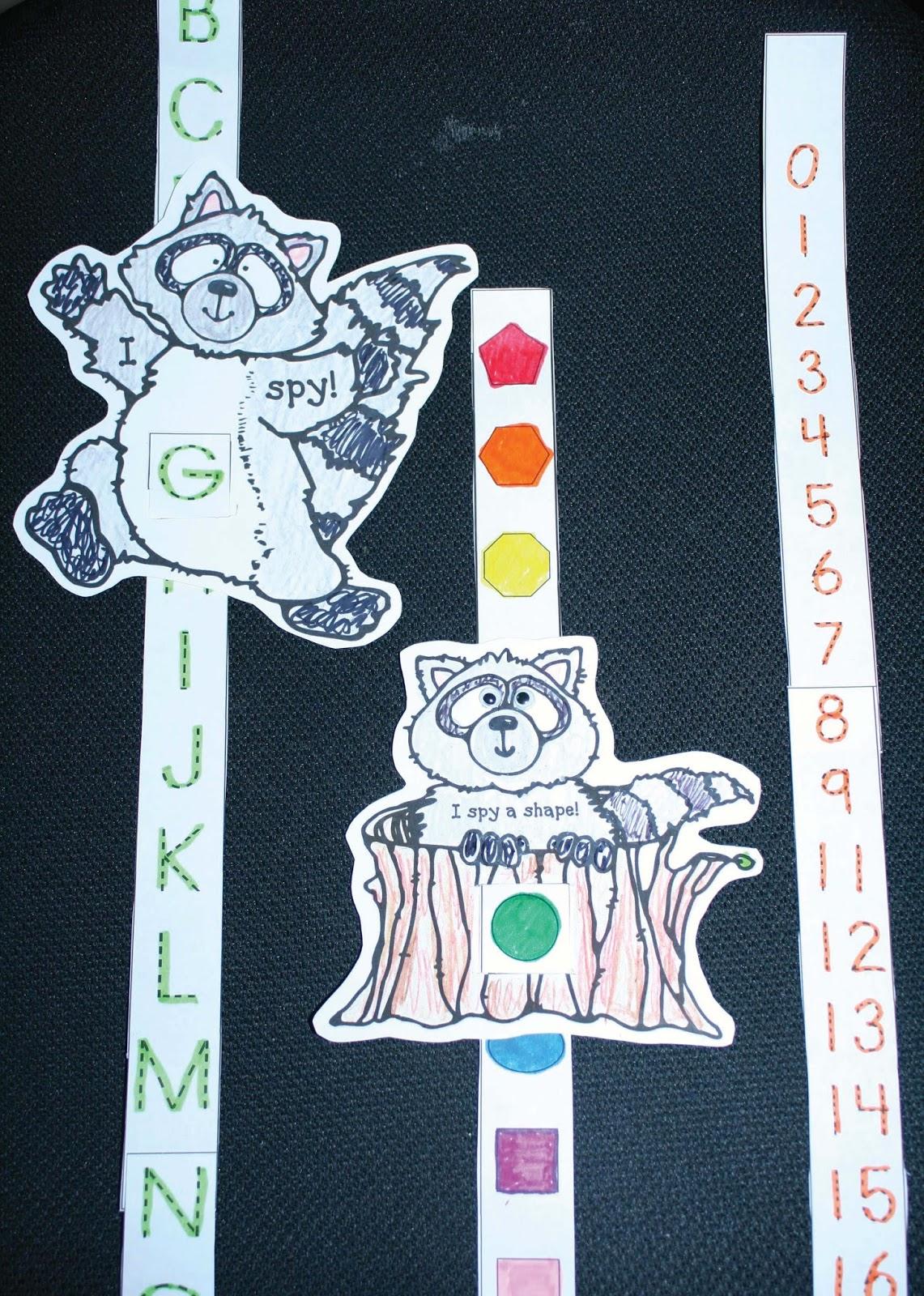 Raccoon Ccss Slider Craftivity