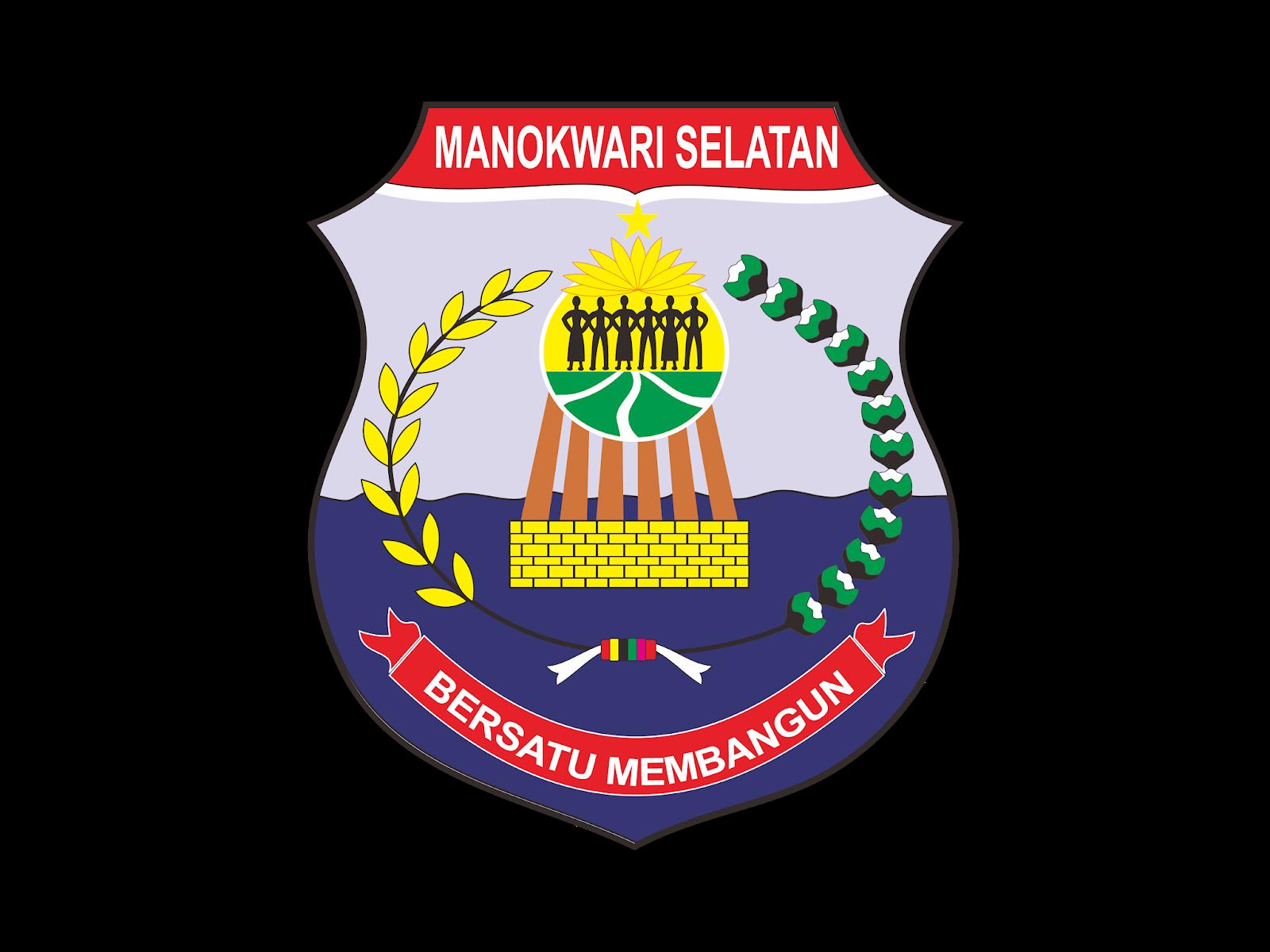 Logo Kabupaten Manokwari Selatan Vector Format Cdr Png Svg Ai Biologizone